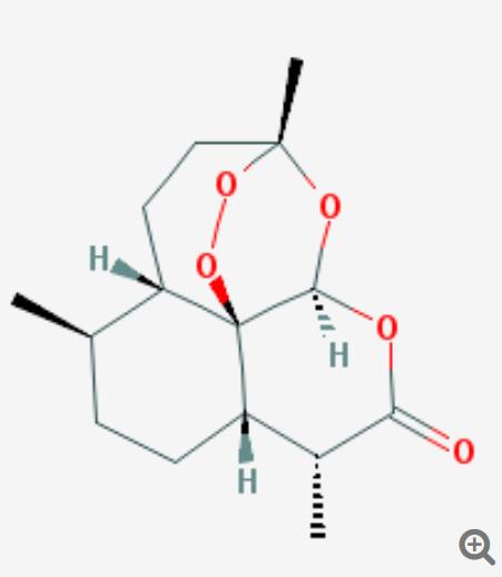 Fig.1:Artemisine - QINGHAOSU